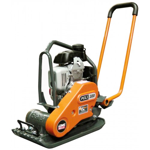 Belle PCLX320 Low Vib Plate Compactor with Honda Petrol Engine 320 x 574mm