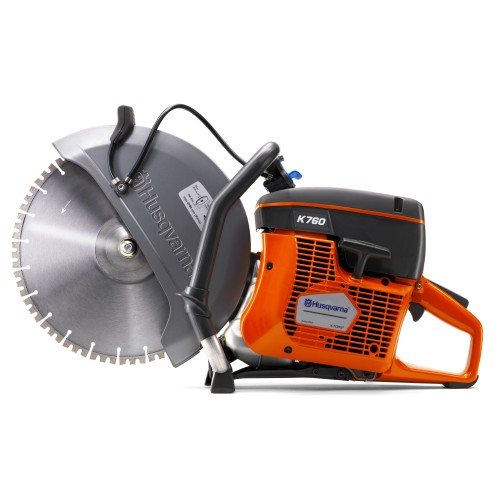 "Husqvarna K760 300mm (12"") Power Cutter c/w Diamond Blade"