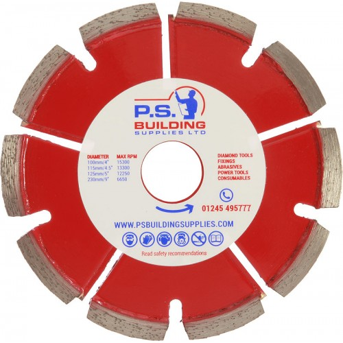 Professional Mortar Raking  Diamond Blade 125 x 6.4 x 22mm - A6