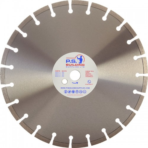 Professional Bench Saw Blade for V/Hard Materials 350mm x 25.4mm - BS10