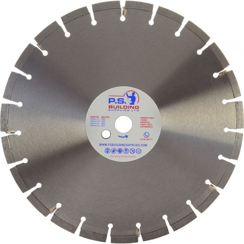 Professional Bench Saw Blade for Abrasive Materials 350mm x 25.4mm - BS30