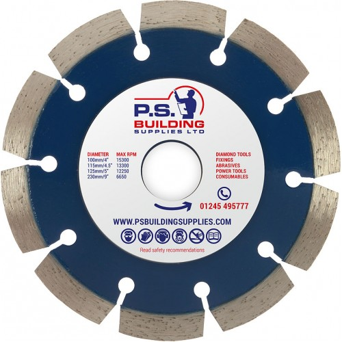 Professional Diamond Blade for Concrete 125mm x 22.23mm - PR15